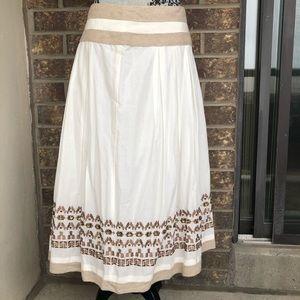 Nygard Full Cotton Maxi Skirt Size 16